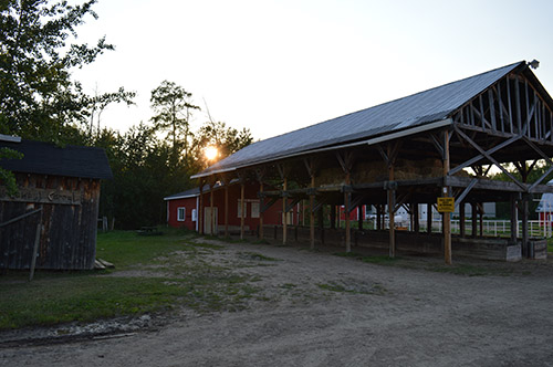 General - Facilities - Barn Tie Stalls