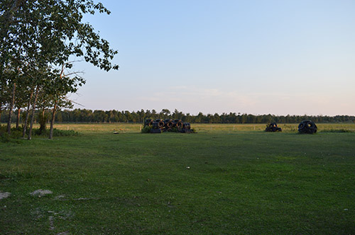 General - Facilities - Tire Park in Back Pasture