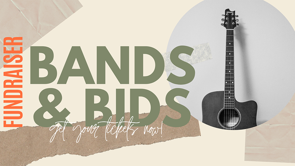 Bands and Bids 2020 Slide