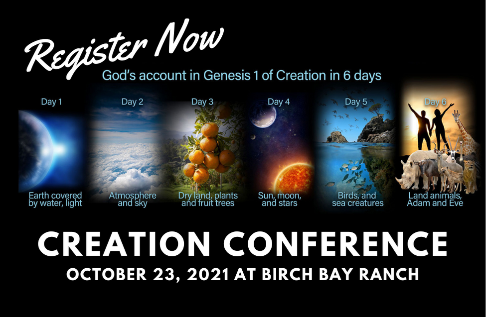 Creation Conference Oct 17, 2020